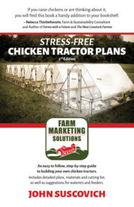 Stress-Free Chicken Tractor Plans - front cover