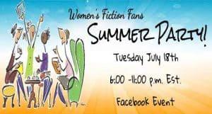 Facebook Author Event promo example