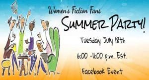 Facebook Author Event promo example