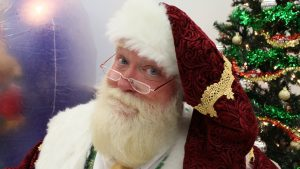 Bill Buckbee as Santa Claus